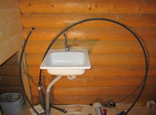 Труба водоснабжения от колодца