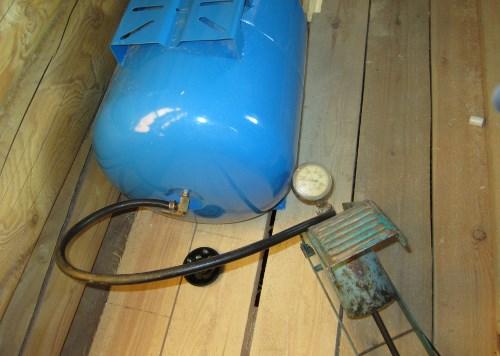 Гидроаккумулятор системы водоснабжения
