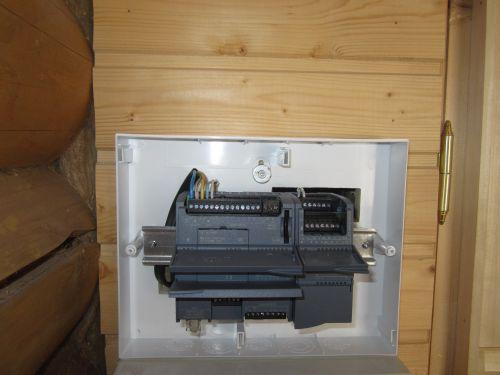 Электроподключение контроллера S7 1200