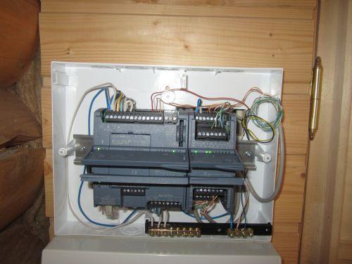 Подключаем датчики к контроллеру S7-1200